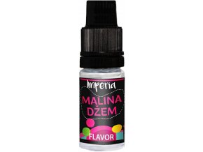 prichut imperia black label 10ml raspberry jam malinovy dzem