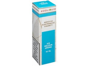 Liquid Ecoliquid ICE Melon 10ml - 20mg (Svěží meloun)