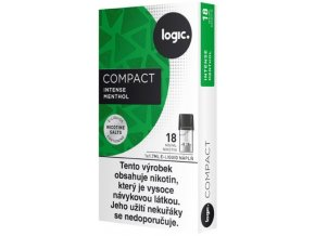 JTI Logic Compact cartridge Intense Menthol 18mg