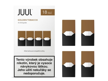 JUUL POD Golden Tobacco 18mg 4pack