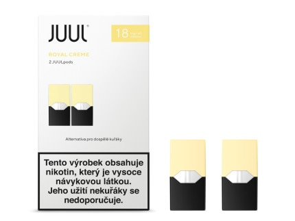 JUUL Labs Inc. Cartridge Royal Creme 18mg 2ks