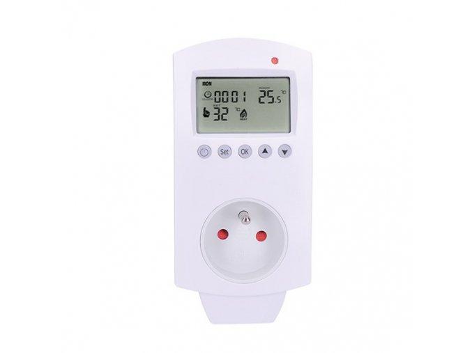 Solight zásuvkový termostat, 230V 16A, DT40