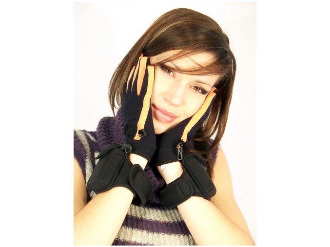 vyhřívané rukavice