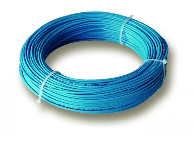 Připojovací vodič k foliím Ecofilm modrý