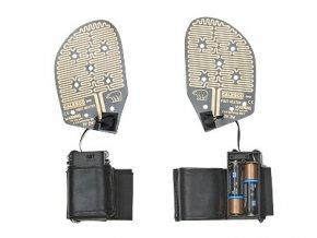 vyhřívané vložky do bot detail Backer