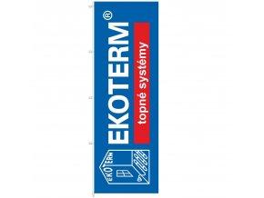 vlajky 100x300 cm Ekoterm 1