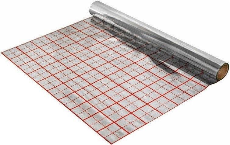 Al fólie pro podlahové topení 50m2, 1x50m