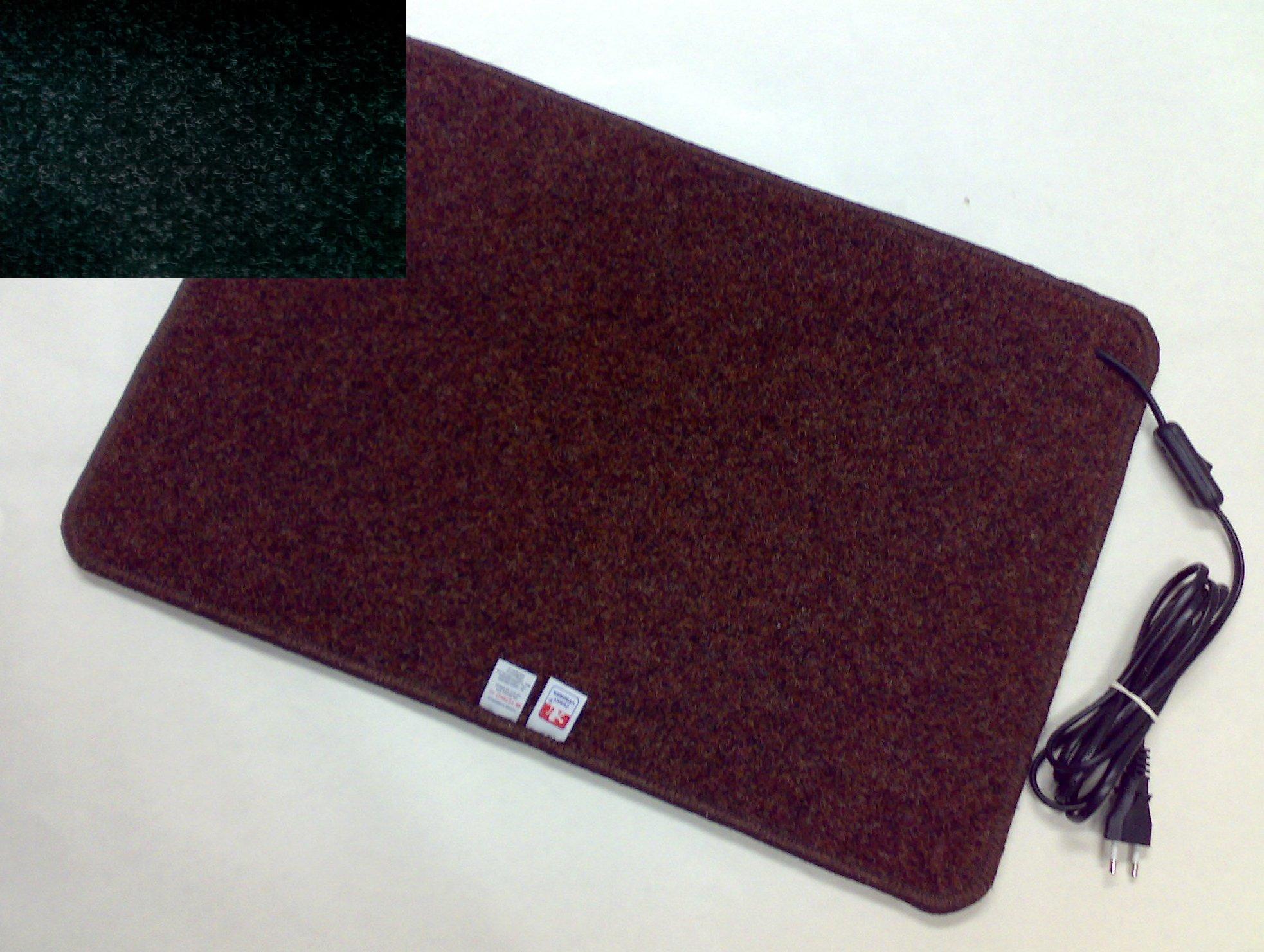 Topný koberec 30 x 40cm / 20W Barva: Černý Z236