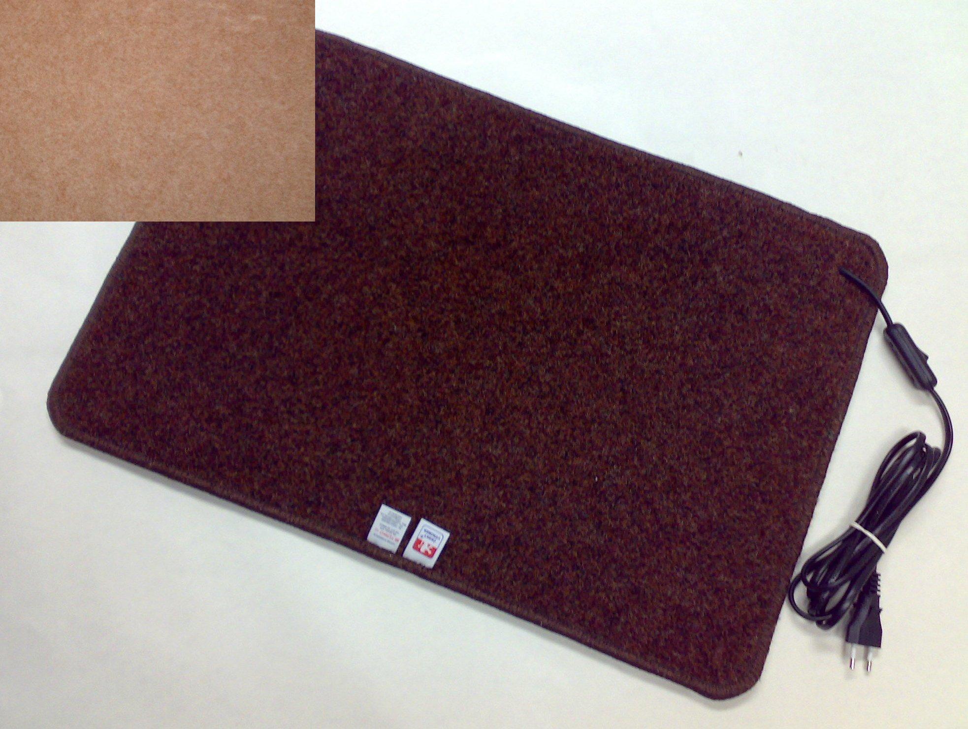 Topný koberec 60 x 90cm / 100W Barva: Béžový S70