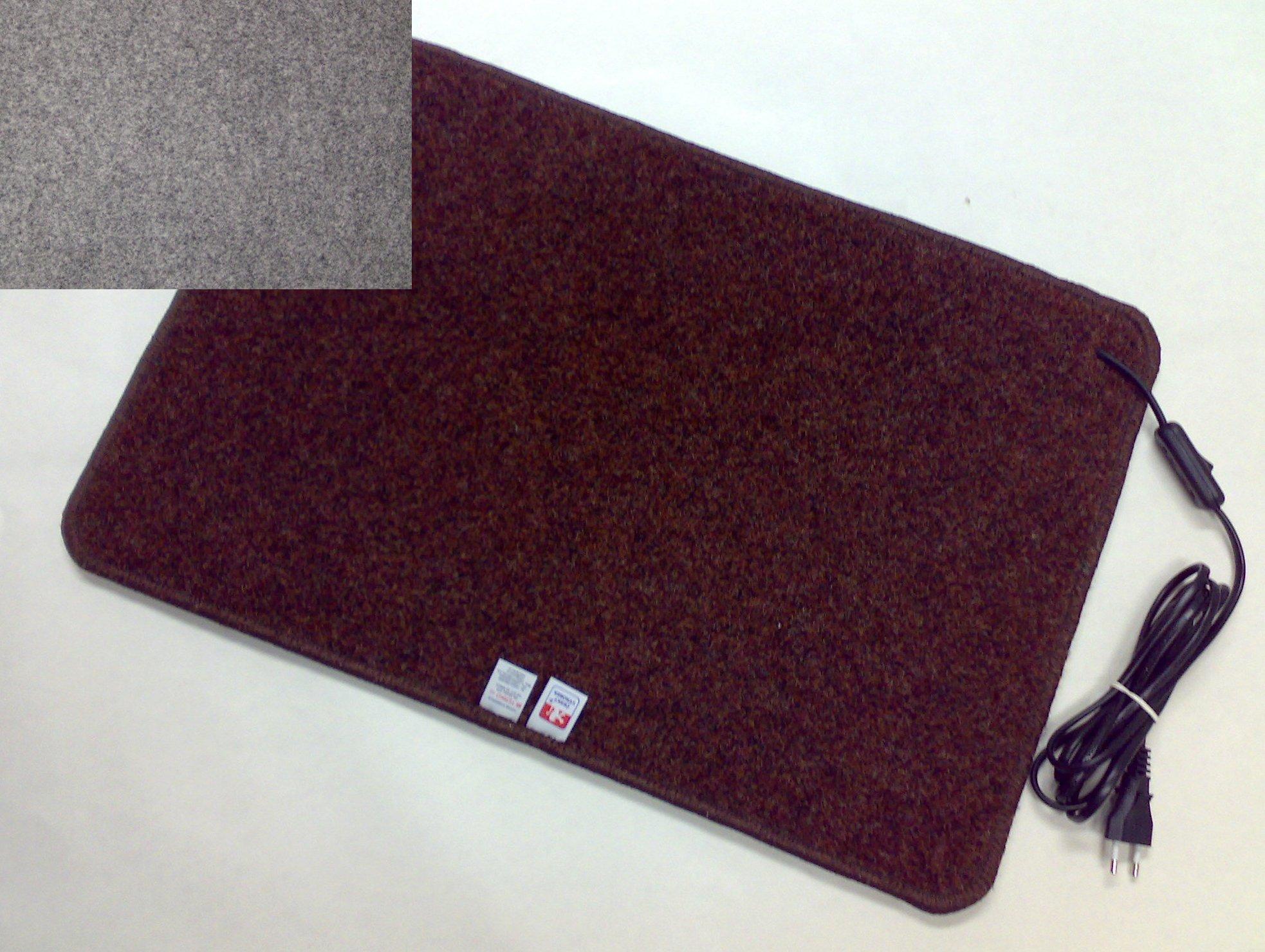Topný koberec 60 x 90cm / 100W Barva: Šedý Z901