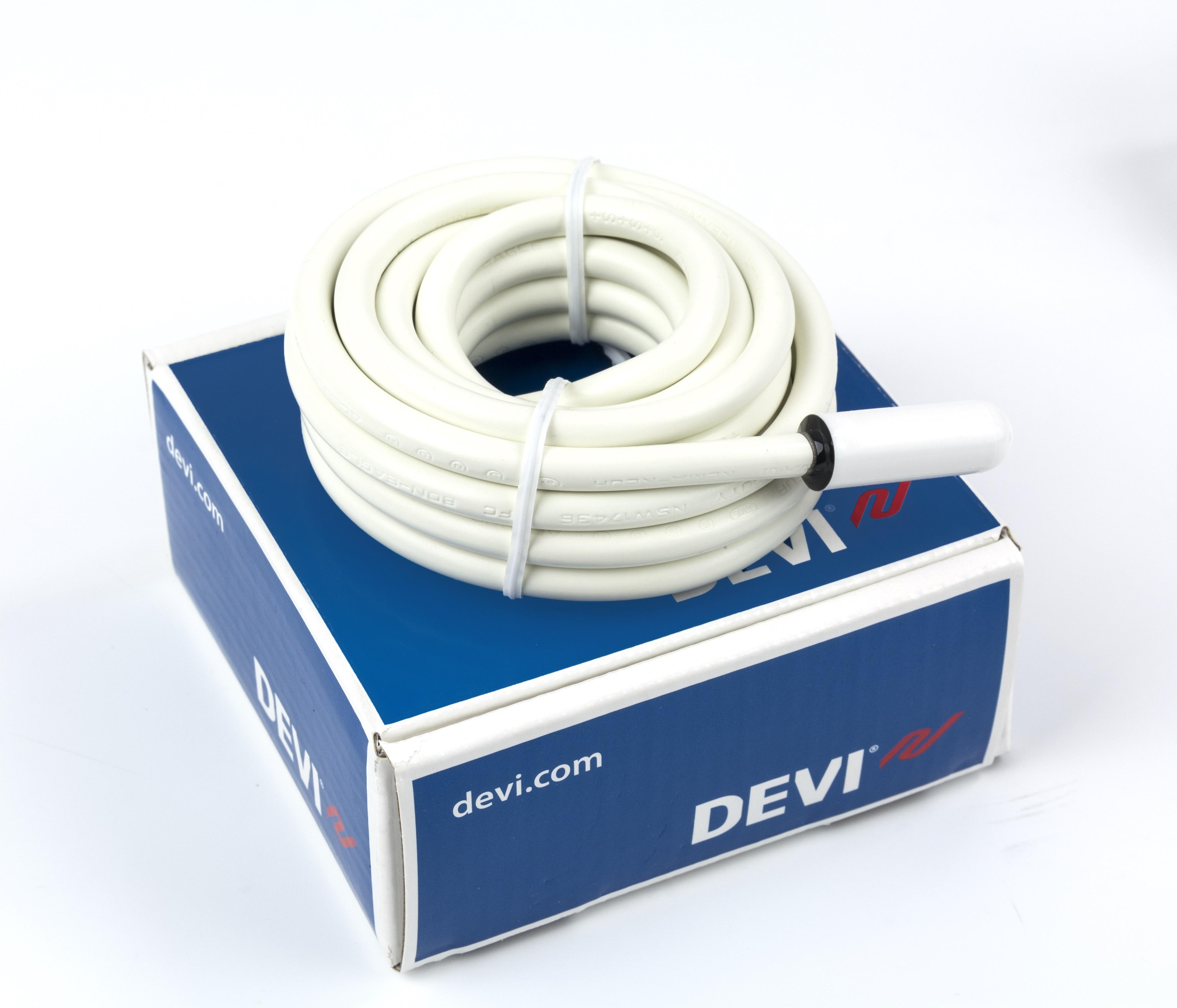 Snímač teploty podlahový, kabelový - NTC 2,5m 15kOhm/25°C DEVI R5992130S