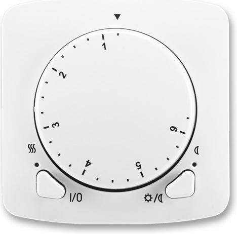 Termostat Tango ABB bílá ABB 3292A-A10101 B