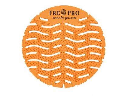 FRE-PRO Wave - vonné pisoárové sitko - oranžová - mango
