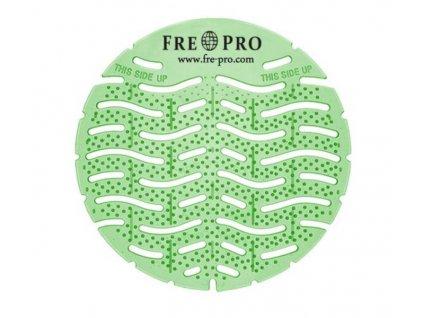 FRE-PRO Wave - vonné pisoárové sitko - zelená - uhorka a melón