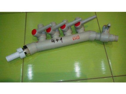 Plastový rozvádzač do ČOV - 0753 - 4+1
