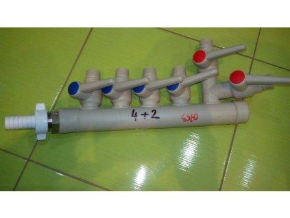 Plastový rozvádzač do ČOV - 0753