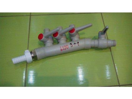 Plastový rozvádzač do ČOV - b990
