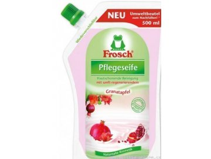 Frosch EKO Tekuté mydlo Granátové jablko náhradná náplň 500 ml