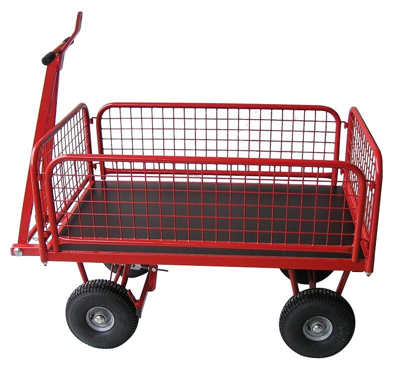 Plošinové vozíky s podjížděcí rukojetí