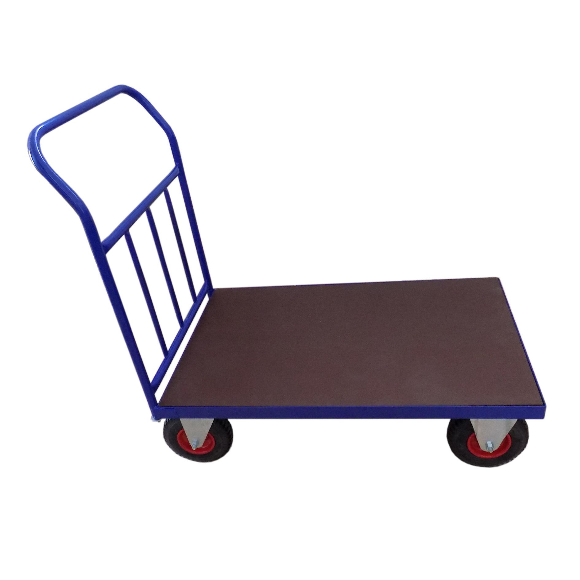 Plošinové vozíky s madlem