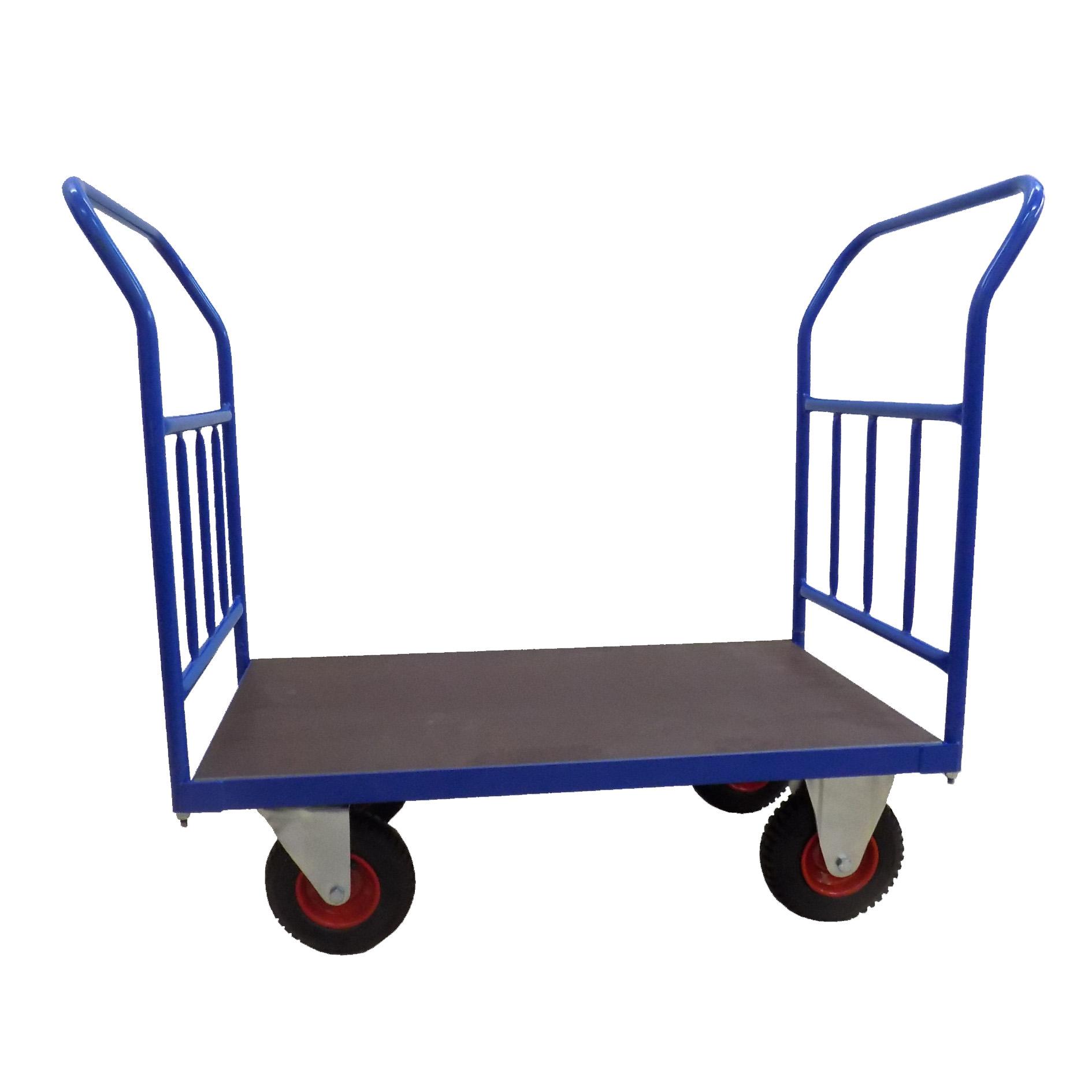 Plošinové vozíky se 2 madly