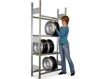 Regály na pneu a disky