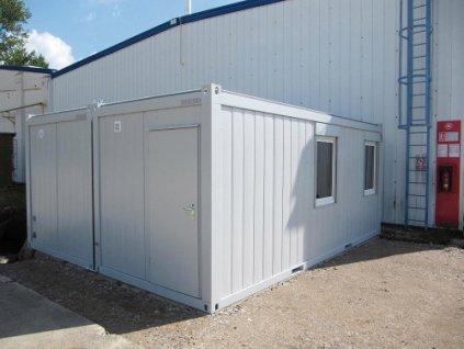 Obytné sanitární kontejnery