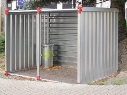 Skládací kontejnery přístřešky