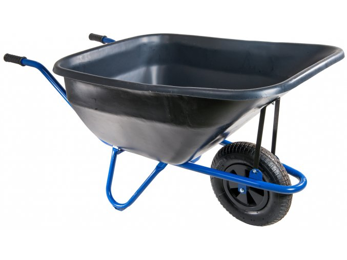 100 zahradni kolecko 180l euro ram s nafukovaci pneumatikou kz05