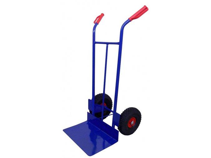 RUDL PROFI Univerzal (300 až 400 KG) RN58 (Nosnost 400 kg, Průměr kola 300 mm, Velikost lopaty 500 x 290 mm)