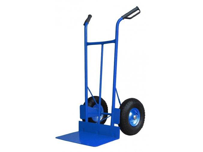 Rudl PROFI 350 až 400 kg RN60 (Nosnost 350 kg, Průměr kola 300 mm ložiska kuličková, Velikost lopaty 500 x 150 mm)