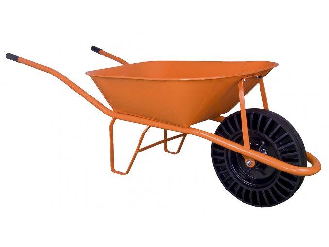 Stavební kolečko 60l bantam oranžové KS07
