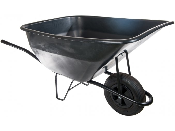 98 zahradni kolecko 180l s nafukovaci pneumatikou kz06