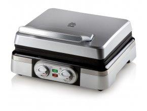 Vaflovač 4x7 s termostatem - DOMO DO9149W