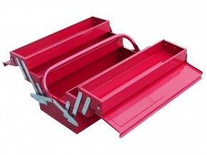 kufr na nářadí kovový, 400x200x195mm
