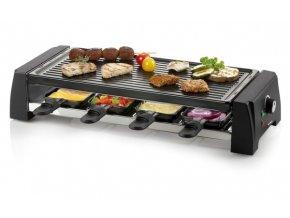 Raclette gril pro 8 osob - 2v1 - DOMO DO9189G, pro 8 lidí