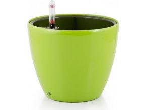 Samozavlažovací květináč G21 Ring zelený 17,5 cm