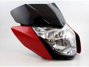 Přední světlo H4 na motocykl