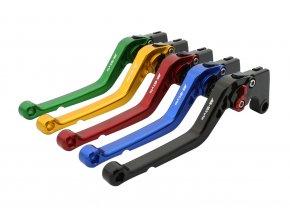 M-Style CNC páčky dlouhé Honda
