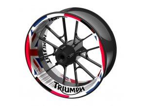 M-Style jednodílné polepy na kola TRIUMPH