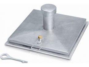 10730 studnove poklopy obdelnikove s kominem 1200x1200 mm