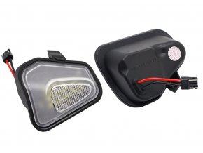 LED světla pod zrcátka VW Passat B7 EOS CC Scirocco MK3 Jetta MK6
