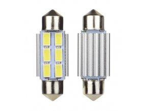 LED žárovka sufit 39mm 12V 6SMD 5630
