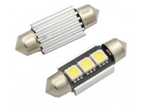 LED žárovka 36mm 12V 3SMD