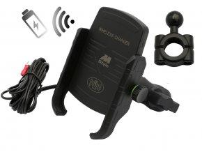 M-Style EW 2 držák telefonu s bezdrátovým nabíjením na hrazdu