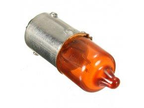 Žárovka 12V 21W BA9S oranžová