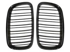 Přední maska ledvinky M-look BMW X5 E70 X6 E71 2007-2013 černá