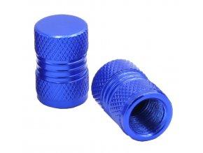 CNC Čepičky ventilků modrá