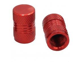 CNC Čepičky ventilků červená