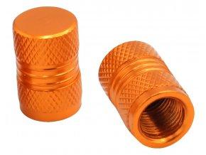 CNC Čepičky ventilků oranžová